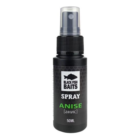 Ароматизатор спрей Black Fish Baits SPRAY Anise (анис) 50мл