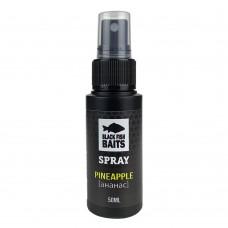 Ароматизатор спрей Black Fish Baits SPRAY Pineapple (ананас) 50мл