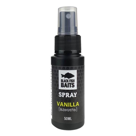 Ароматизатор спрей Black Fish Baits SPRAY Vanilla (ваниль) 50мл