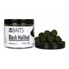 Пеллетс Black Halibut 14мм 125г
