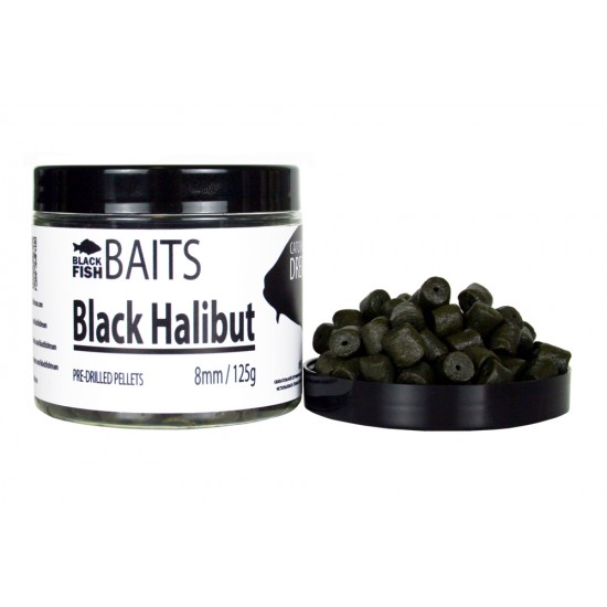 Пеллетс Black Halibut 8мм 125г