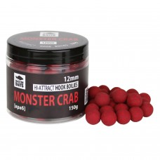 Бойлы тонущие Black Fish Baits Hi-Attract Hook Boilies Monster Crab (краб) 12мм