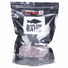 Бойлы тонущие Black Fish Baits HI-ATTRACT Boilies ROYAL SHRIMP (креветка) 20мм 2кг