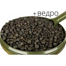 Пеллетс карповый Spod Mix XL 5-10мм 7,5кг + ведро Black Fish