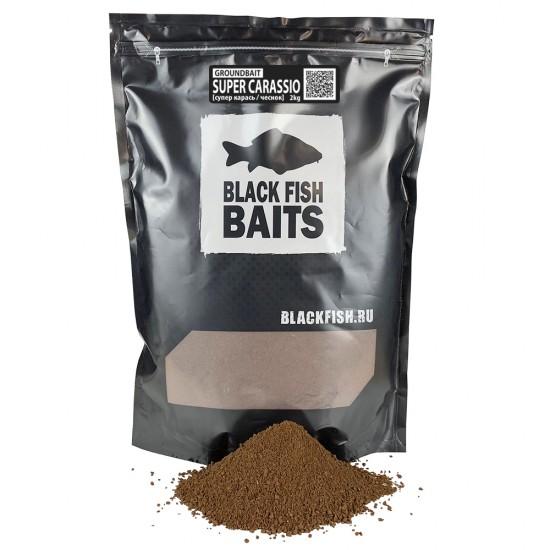 Прикормка Black Fish Baits Groundbait SUPER CARASSIO (карась/перец) 2кг