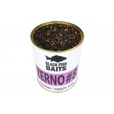 Зерновая смесь Black Fish Baits ZERNO #8 (конопля с перцем чили) 900мл