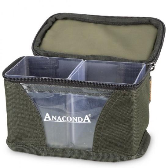 Сумка для грузил с 2 контейнерами ANACONDA Lead Container