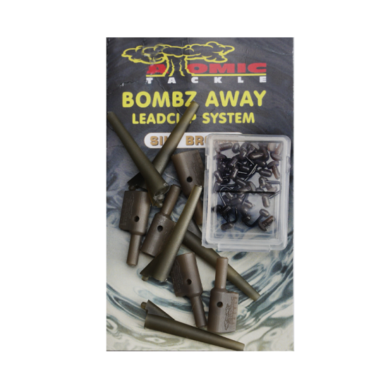 Безопасная клипса Atomic Tackle BOMBS AWAY Leadclip
