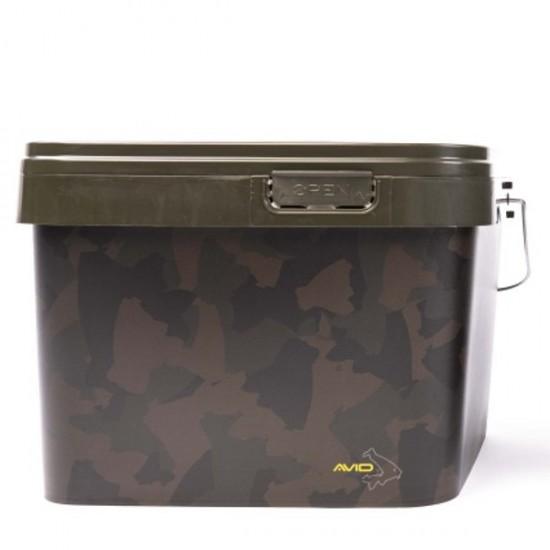 Ведро пластиковое AVID CARP Square Bucket 10/17L