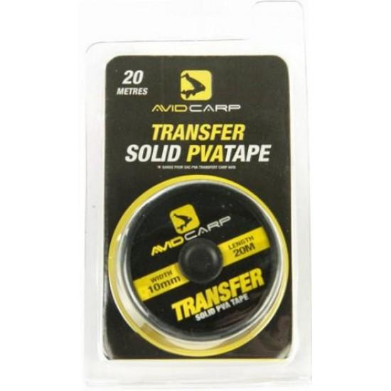 Лента растворимая AVID CARP Transfer Solid PVA Tape 10mm 20m