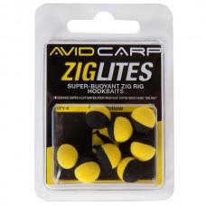 Плавающие насадки AVID CARP Zig Lites 10мм 8шт.