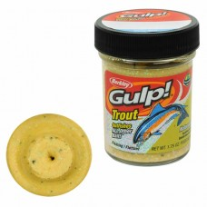 Паста форелевая Berkley Gulp Dough Natural Scent Chunky Cheese (чанки чиз)