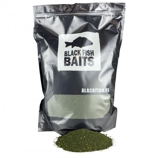 Прикормка методная Black Fish Baits Groundbait Method SPICY LIVER (специи/печень) 2кг
