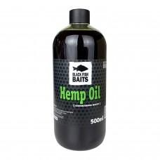 Конопляное масло Black Fish Baits Hemp Oil 500мл