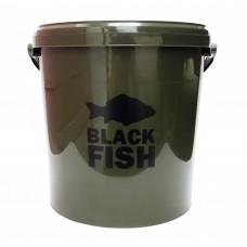 Ведро для прикормки Black Fish Dark Olive Bucket 10 Litre