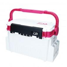 Ящик рыболовный Daiwa Tackle Box TB4000 White/Pink