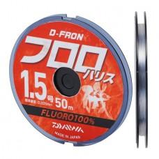 Флюорокарбон Daiwa D-Fron Fluoro Harisu 50m