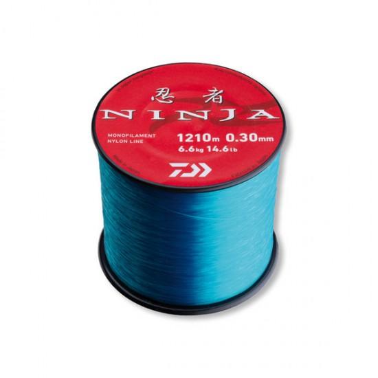 Леска Daiwa Ninja X Line Blue (светло-голубая)