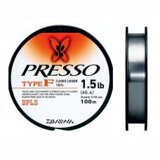 Леска флюорокарбоновая Daiwa Presso Type-F 100m