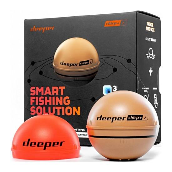 Беспроводной эхолот Deeper Smart Sonar CHIRP+ 2