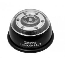 Светодиодный светильник co встроенным приемником Delphin CONTACT 6 + 1 LED Bivvy Light