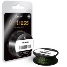 Поводковый материал Delphin FORTRESS 20m 25/35lb Black/Green