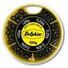 Грузила-дробинки Delphin Soft Lead Shots 100g