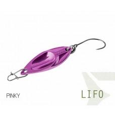 Блесна колеблющаяся Delphin LIFO Spoon 2.5g PINKY