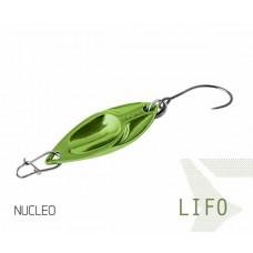 Блесна колеблющаяся Delphin LIFO Spoon 2.5g NUCLEO