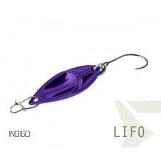 Блесна колеблющаяся Delphin LIFO Spoon 2.5g INDIGO