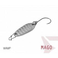 Блесна колеблющаяся Delphin MAGO Spoon 2.0g WAMP