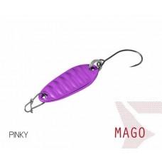 Блесна колеблющаяся Delphin MAGO Spoon 2.0g PINKY