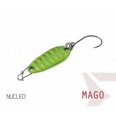 Блесна колеблющаяся Delphin MAGO Spoon 2.0g NUCLEO