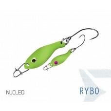 Блесна колеблющаяся Delphin RYBO Spoon 0.5g NUCLEO