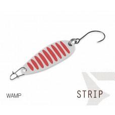Блесна колеблющаяся Delphin STRIP Spoon 2.0g WAMP