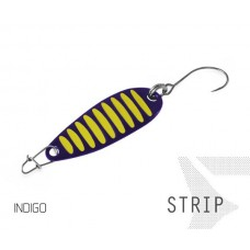 Блесна колеблющаяся Delphin STRIP Spoon 2.0g INDIGO