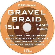 Поводковый материал DRENNAN GRAVEL Braid Hooklink