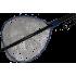 Подсачек силиконовый ECOPRO 44x39, рукоятка 1.09м, синий (A-060)