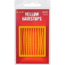 Стопоры для насадок ESP Hair Stops Yellow (желтые)