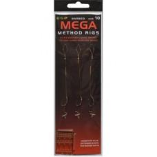 Поводок для метода ESP Mega Method Rig Barbed 3шт.