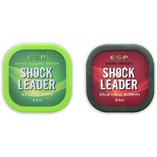 Шок-лидер плетеный ESP Shock Leader 0,36mm 35lb 25m