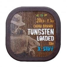 Поводковый материал ESP TUNGSTEN LOADED X-STIFF 20lb 10m