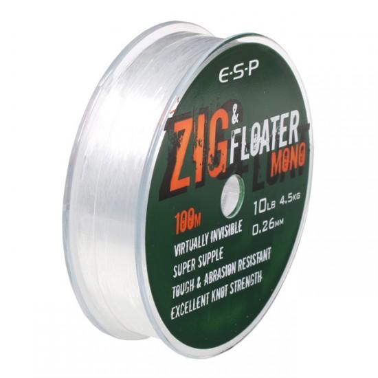 Леска нейтральной плавучести ESP ZIG & FLOATER Mono