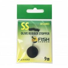 Стопор для бойлов Fish Season Olive Rubber Stopper (оливка)