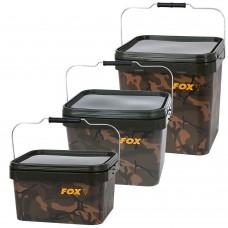 Ведро квадратное FOX Camo Square Buckets 5/10/17L