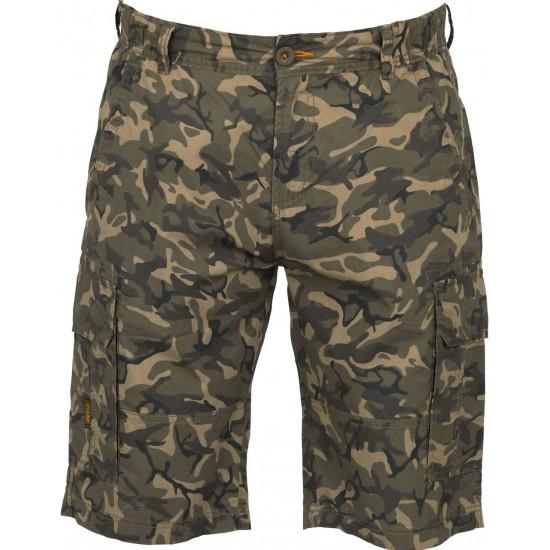Шорты легкие камуфляжные FOX CHUNK Cargo Shorts Lightweight Camo