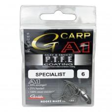 Крючки карповые Gamakatsu G-CARP A1 SPECIALIST PTFE