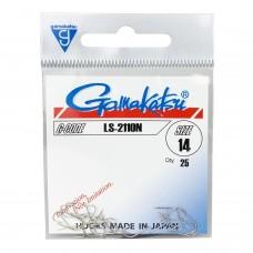 Крючки Gamakatsu HOOK LS-2110N NICKEL
