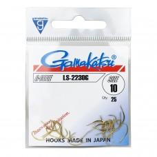 Крючки Gamakatsu HOOK LS-2230G GOLD