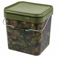 Ведро пластиковое Gardner Camo Square Bucket Large 17L